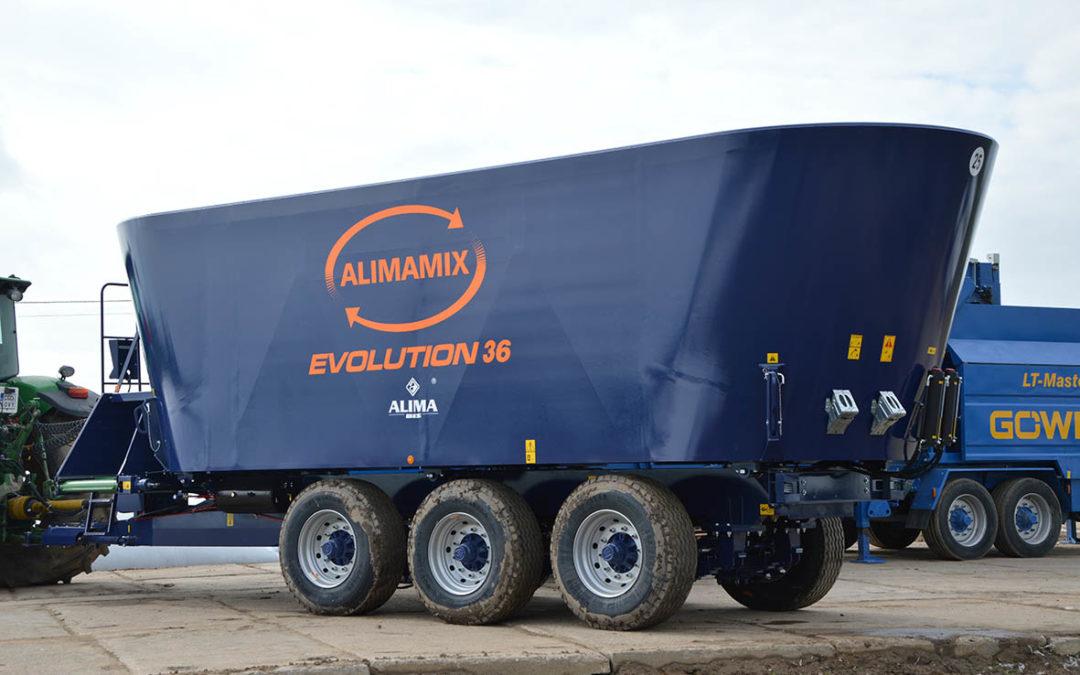 Wóz paszowy ALIMAMIX EVOLUTION