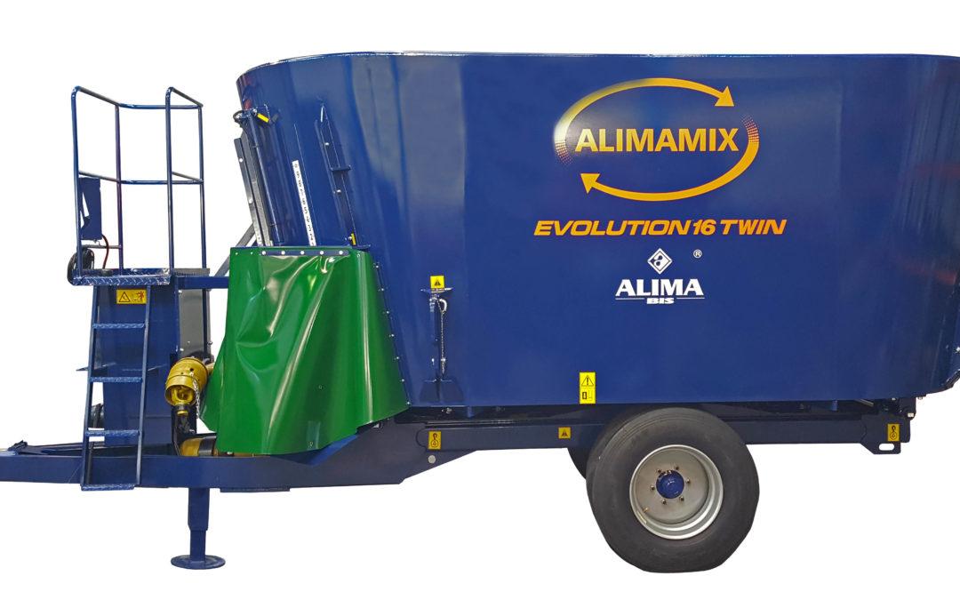 Wóz paszowy ALIMAMIX EVOLUTION TWIN
