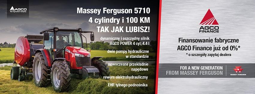 Oferta - ciągnik MF 5710