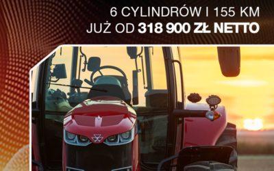 MF 7715 Dyna-6 - 6 cylindrów i155 KM już od318 900 zł netto