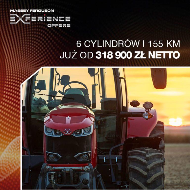 MF 7715 Dyna-6 - 6 cylindrów i 155 KM już od 318 900 zł netto