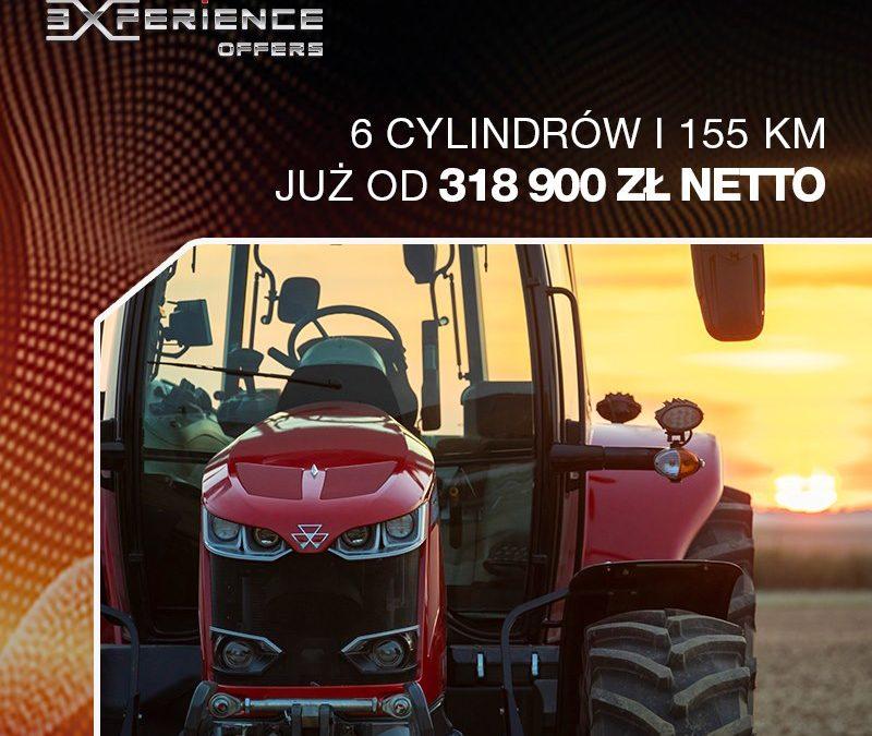 MF 7715 Dyna-6 – 6 cylindrów i155 KM już od318 900 zł netto