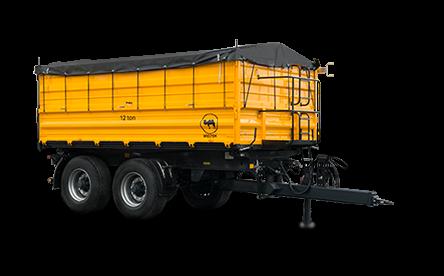 Przyczepa PRS-2S / S9 – 40 km/h