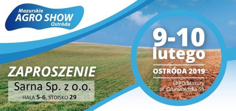 Sarna na targach AGRO SHOW w Ostródzie